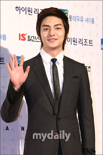 Kim Joon looking suave