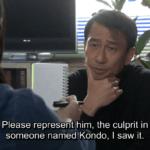 Hana talks to Kazuma