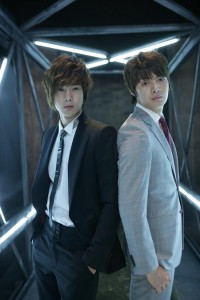 Kim Joon and Kim Hyun Joong