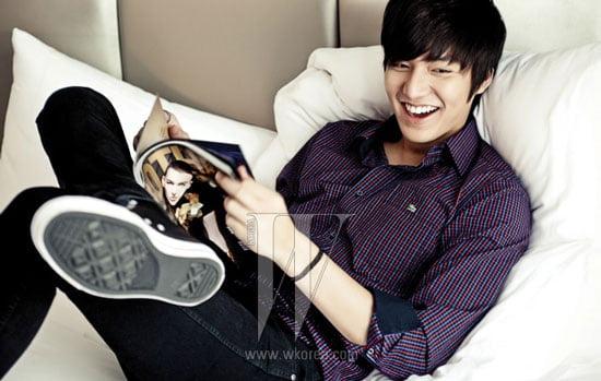 Lee Min Ho W Korea