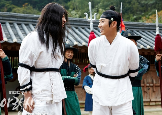 Arang and the Magistrate - Eunho and Dol Swe
