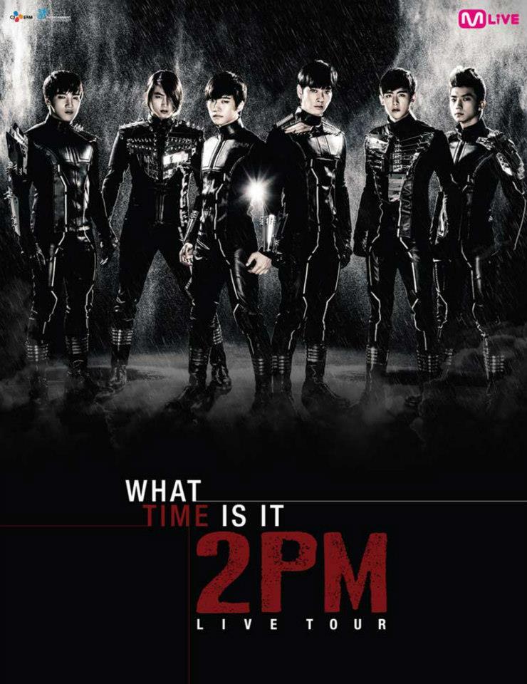2PM 2013 Live Tour