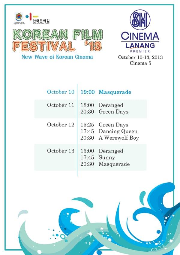 Korean Film Festival 2013 in Davao