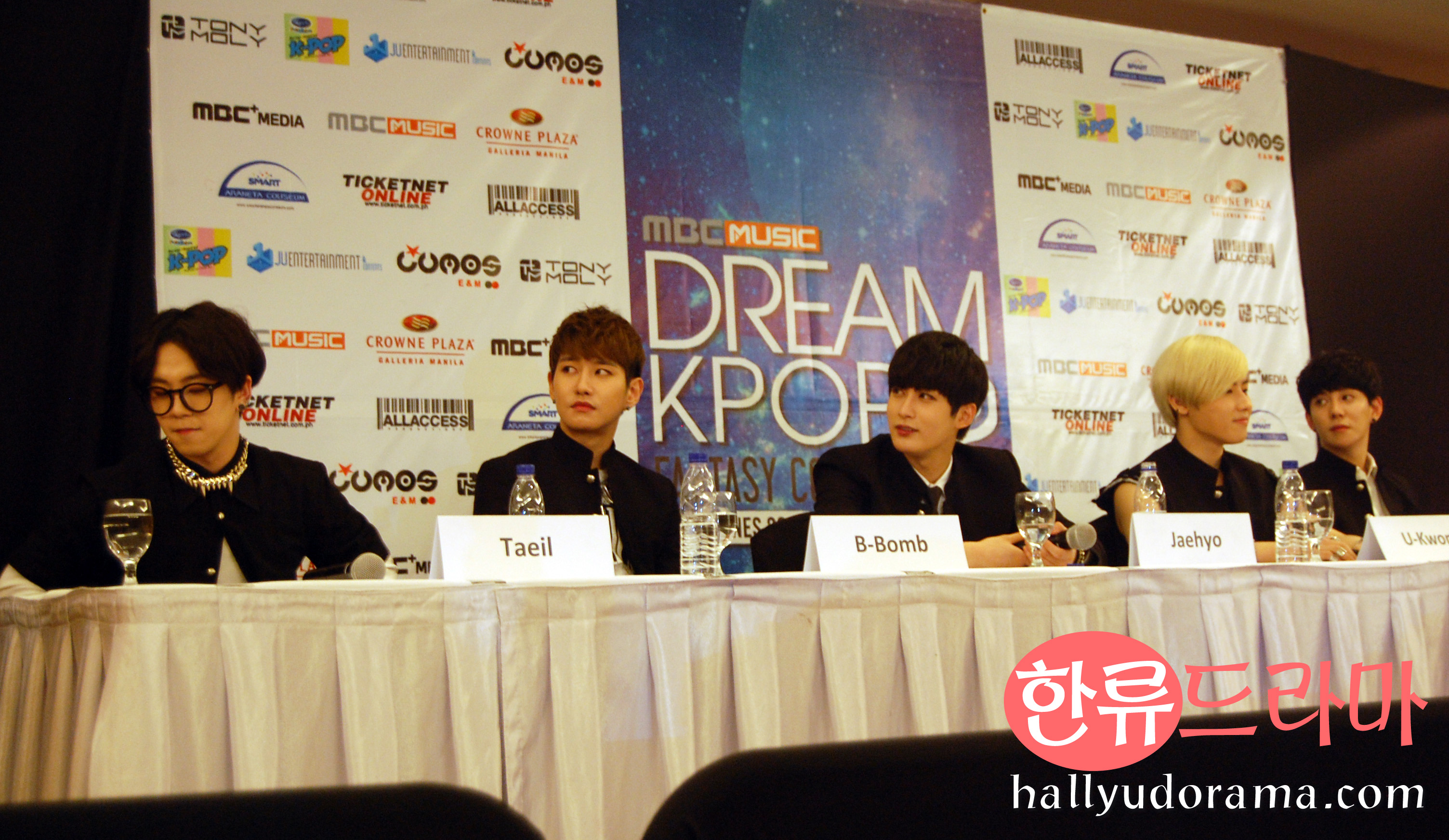 Block B in DKFC2 presscon