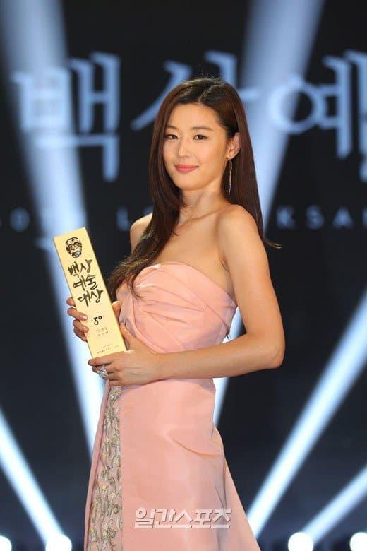 Jun Ji Hyun - Daesang Award (TV), In Style Fashionista Award