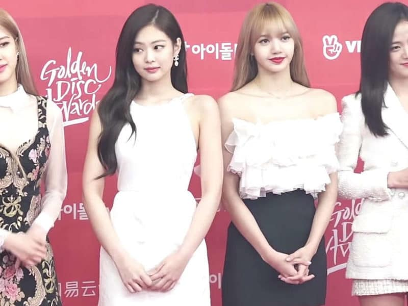 Blackpink — now the most-subscribed female artist on YouTube — at the Golden Disc Awards 2019.