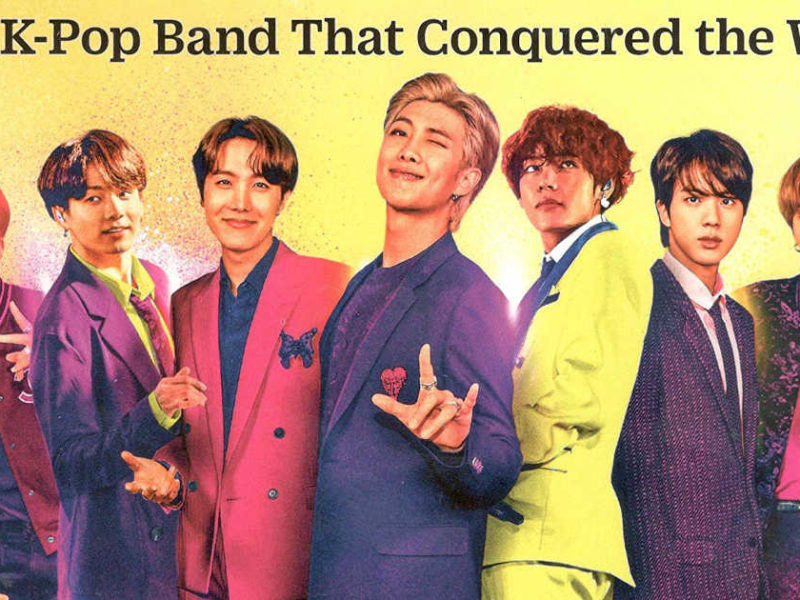 "TIME Magazine's BTS special edition bookazine: ""BTS: The K-Pop Band that Conquered the World"""