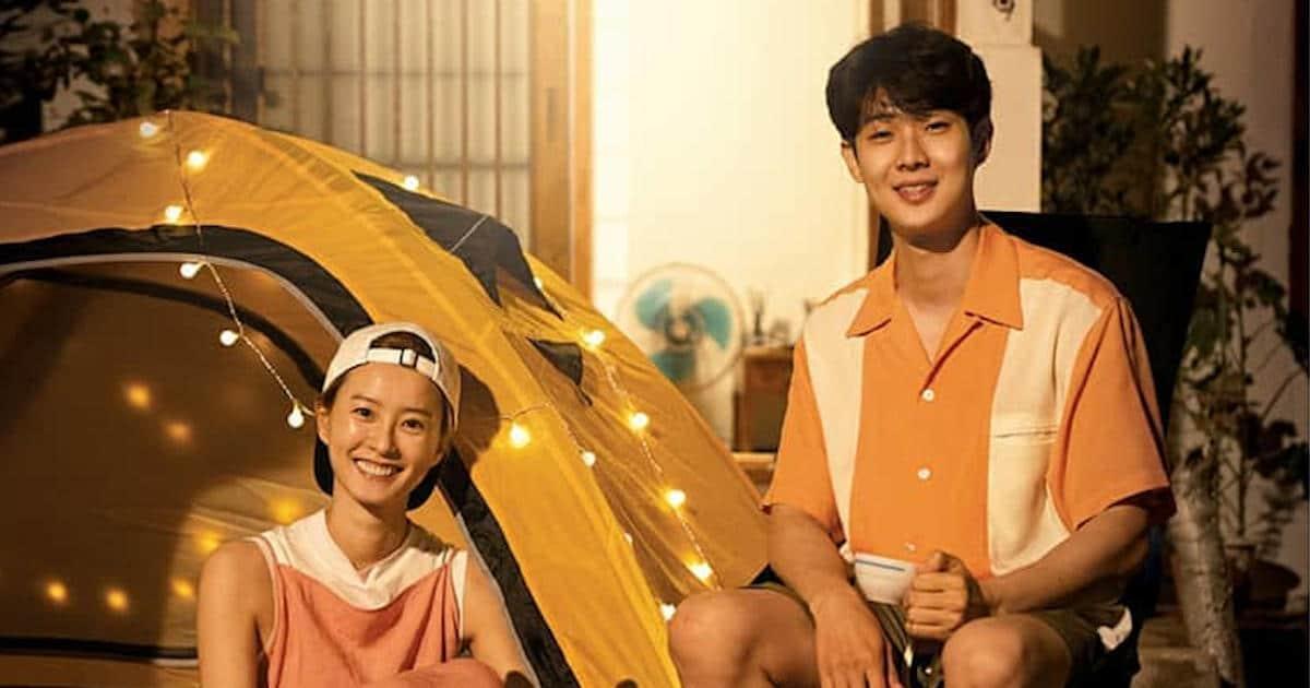 """Jung Yu-mi and Choi Woo-shik in """"Summer Vacation"""""""