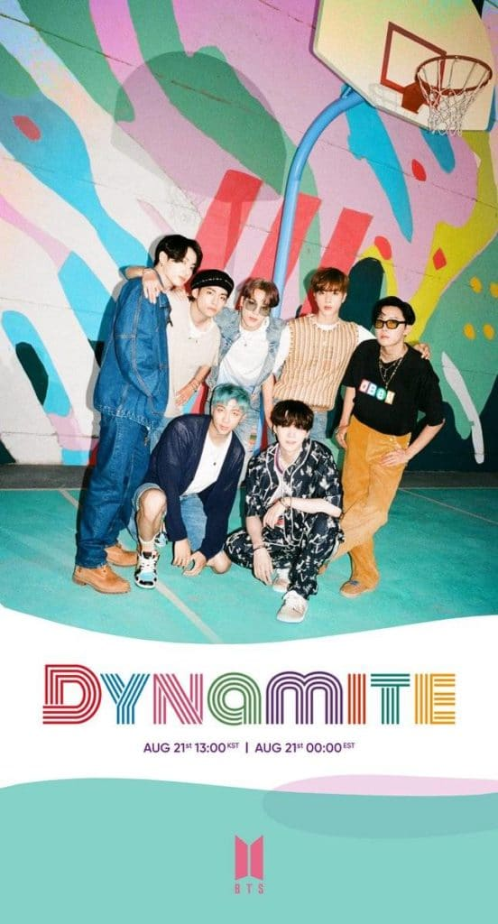 """Dynamite"" group teaser photo"