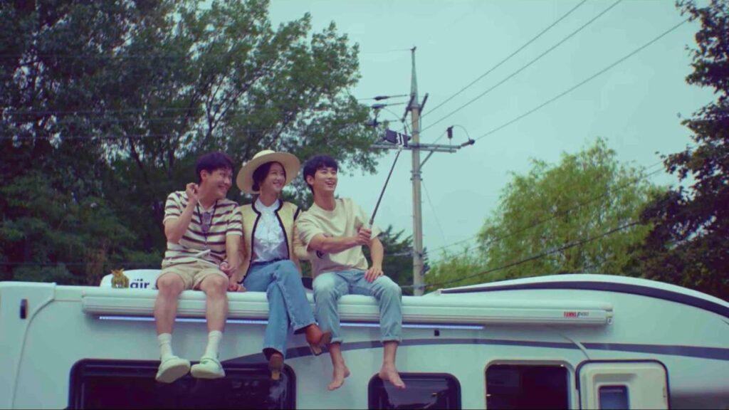 Moon Sang-tae, Ko Moon-young, and Moon Kang-tae.
