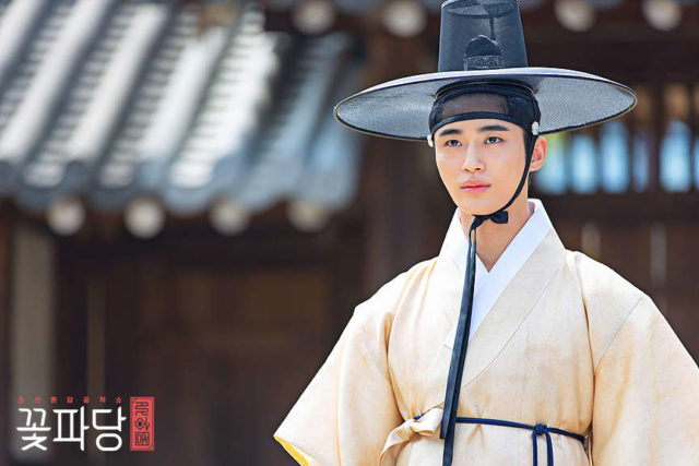 "Byeon Woo-Seok in ""Flower Crew: Joseon Marriage Agency."""