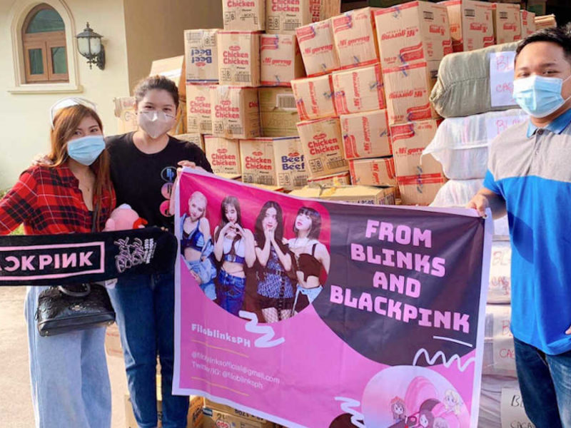 Blinks at the office of Vice President Leni Robredo