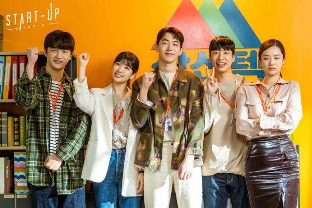 Kim Do-wan, Bae Suzy, Nam Joo-hyuk, Yoo Su-bin & Stephanie Lee as Team Samsan Tech