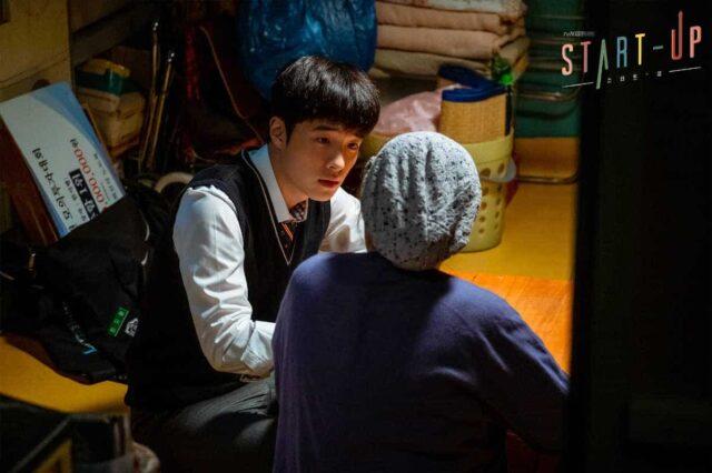 Nam Da-Reum as young Han Ji-pyeong