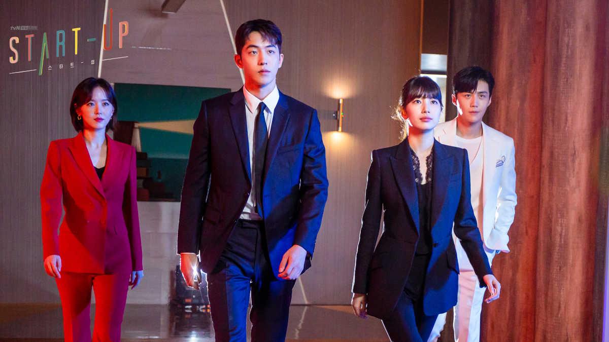 'Start-Up' K-drama - cover
