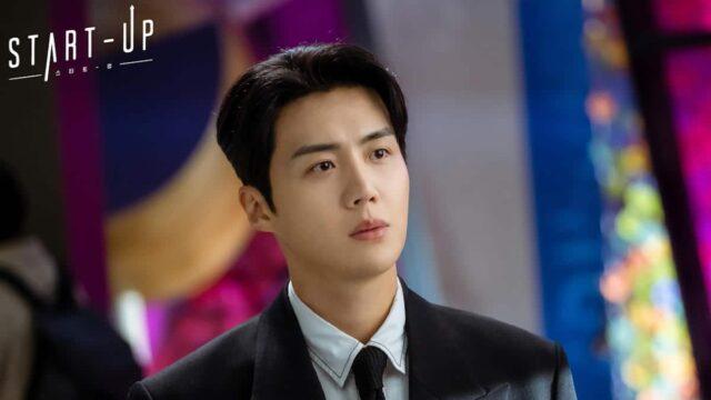 Kim Seon-ho as Han Ji-pyeong in  the K-drama 'Start-Up'