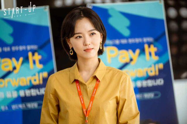 """Kang Han-na as Won In-jae in """"Start-Up"""""""