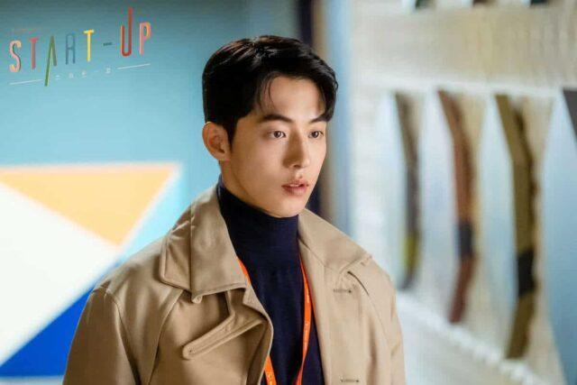 """Nam Joo-hyuk as Nam Do-san in """"Start-Up"""""""