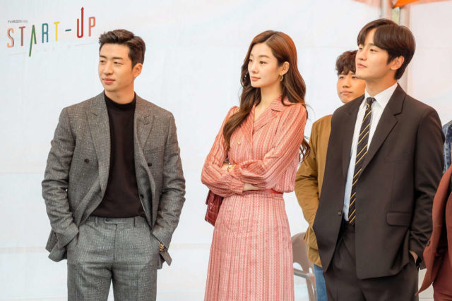 Yoo Su-bin, Stephanie Lee, and Kim Do-wan