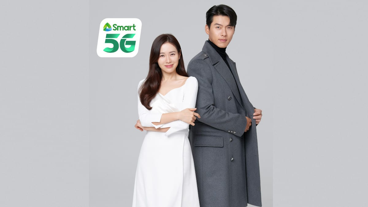 Son Ye-jin and Hyin Bin for Smart