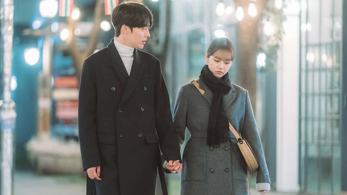 "Jang Ki-yong and Lee Hye-ri in ""My Roommate Is a Gumiho"""