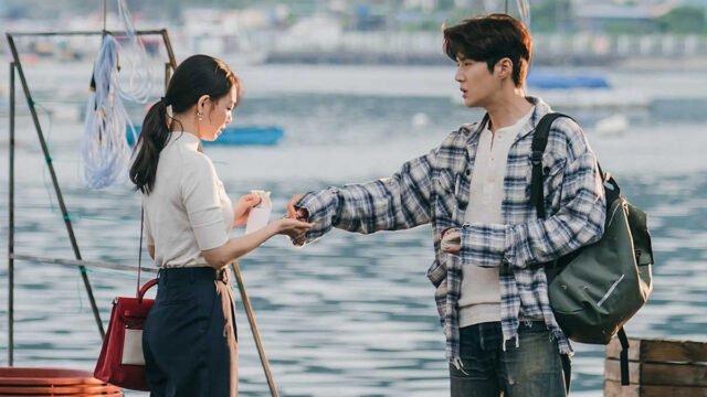 Shin Min-a and Kim Seon-ho in  'Hometown Cha-Cha-Cha' Episode 1