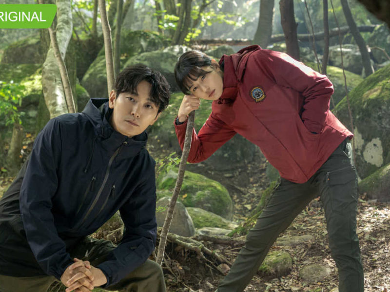 Joo Ji-hoon and Gianna Jun for iQiyi original 'Jirisan'