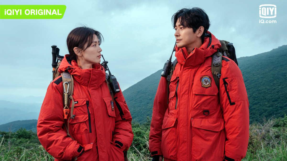 """Gianna Jun and Ju Ji-hoon in """"Jirisan"""""""